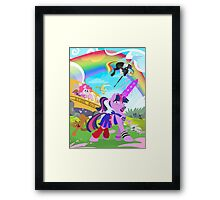 My Little Pony: Crossovers are Magic Framed Print