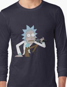 Rick Spits Hot Fire Long Sleeve T-Shirt