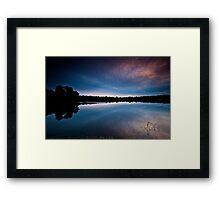 Lake Placid..!!! (Yanchep) Framed Print