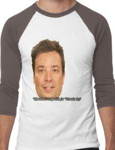 jimmy fallon Men's Baseball ¾ T-Shirt