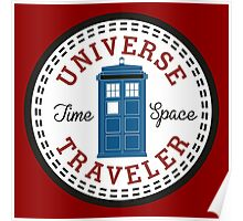 Doctor Who Converse Time Traveller Poster