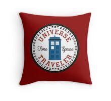 Doctor Who Converse Time Traveller Throw Pillow