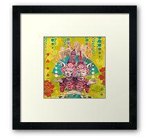 Tweedle Dee and Tweedle Dum Framed Print
