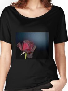 Dead Red Rose Women's Relaxed Fit T-Shirt