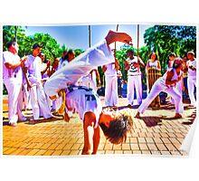 Capoeira Boy Poster