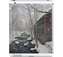 -The Old Mill On Stevens' Brook- iPad Case/Skin