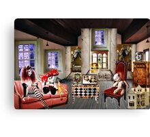 LOST IN DOLL LAND Canvas Print
