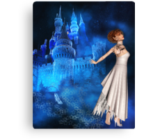 THE TOLL OF THE BELLE Canvas Print