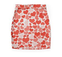 Red Hearts Mini Skirt