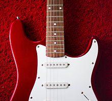 Red Guitar by rafandrian