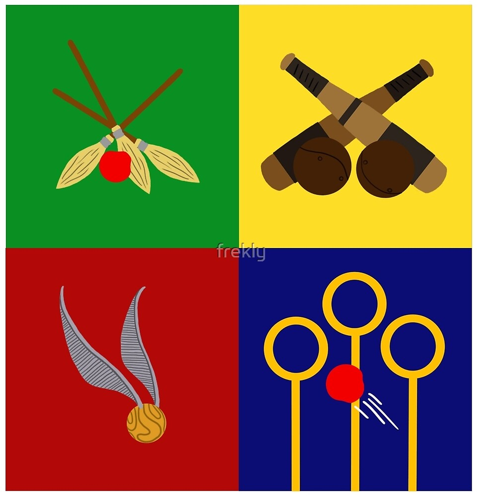 Quidditch Positions by frekly