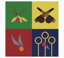 Quidditch Positions Kids Clothes