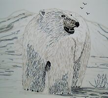 Polar Bear by GEORGE SANDERSON