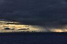 Storms a brewing by Allen Lucas