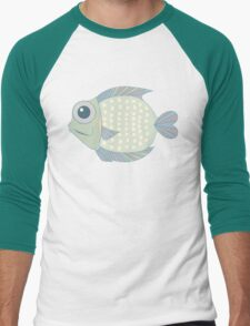 A Cool Fish Men's Baseball ¾ T-Shirt