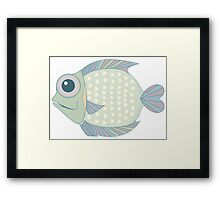 A Cool Fish Framed Print