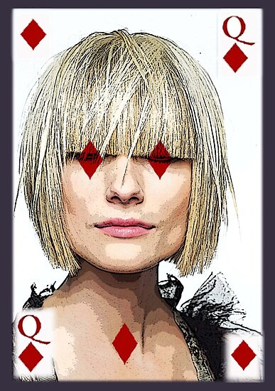 QUEEN OF DIAMONDS by Tammera