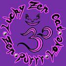 Lucky in Violet by luckyzencat