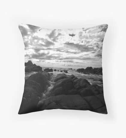 Troubled!! Throw Pillow