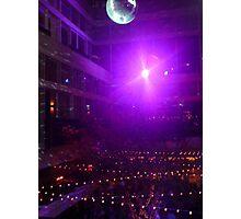 Disco Ball Illuminated Photographic Print