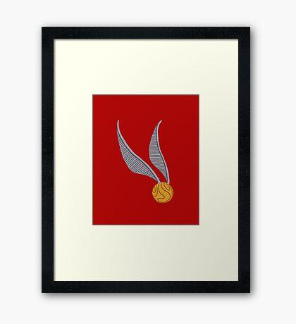 Quidditch Seeker Framed Print