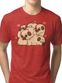 Puglie Grumblie Tri-blend T-Shirt