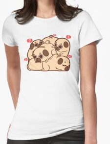 Puglie Grumblie Womens Fitted T-Shirt