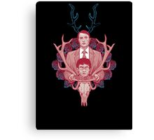 Murder is Meat Canvas Print