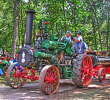 Case Steam Engine by ECH52