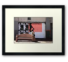mexican-american apparel Framed Print