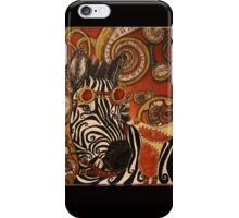 SteamPunk Zebra iPhone Case/Skin