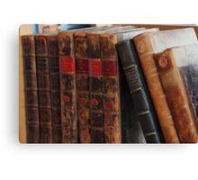 Old Books Canvas Print