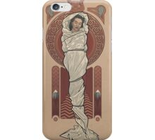 The Girl in the Plastic Dress iPhone Case/Skin