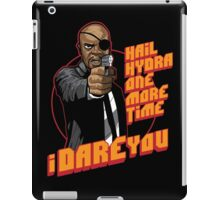 Vengeance and Fury iPad Case/Skin