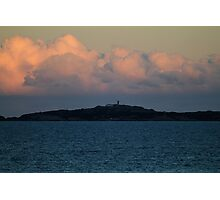 Before the Sunset -Montague Island- Photographic Print