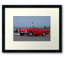 1966 Sunbeam Tiger MK1 V8 Convertible Framed Print
