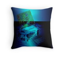 Mother Technology Sends Greetings Throw Pillow