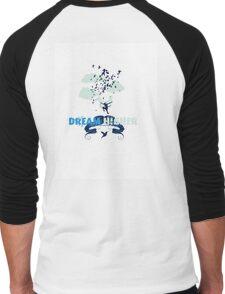 Dream Higher Men's Baseball ¾ T-Shirt
