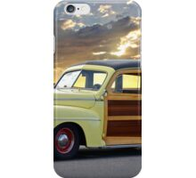 1946 Ford Woody Wagon 'Summer Begins' iPhone Case/Skin