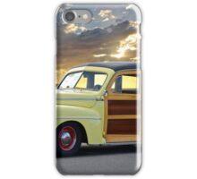 1946 Ford Woody Wagon 'Summer Begins' iPhone Case/Skin