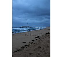 Gone Fishing... Bad Weather Approaching Photographic Print