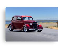 1935 Ford Tudor Sedan Canvas Print