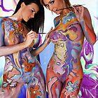 2 girls by yoyoart