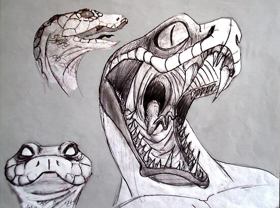 Snakelike Ambitions by brandonsart