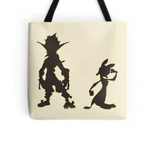 Jak and Daxter: The Precursor Legacy Silhouette Tote Bag