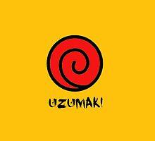 Uzumaki Clan Symbol by dotygonegreen
