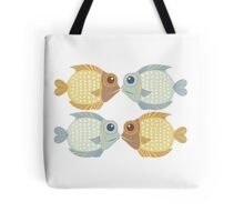 2 FISH + 2 FISH Tote Bag
