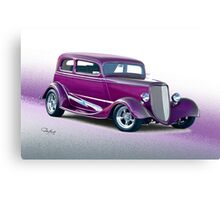 1933 Ford Victoria Sedan Canvas Print