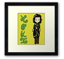Loki of Asgard Framed Print