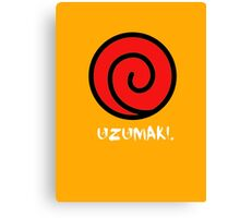 Uzumaki Clan Canvas Print